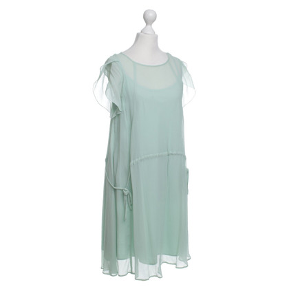Band of Outsiders Robe en soie en vert