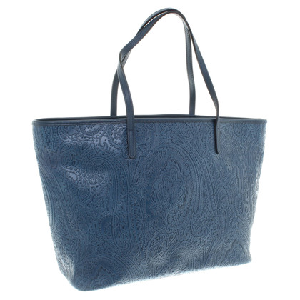 Etro Shopper bag in blue