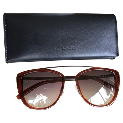 Jil Sander Cat Eye Titanium Sunglasses