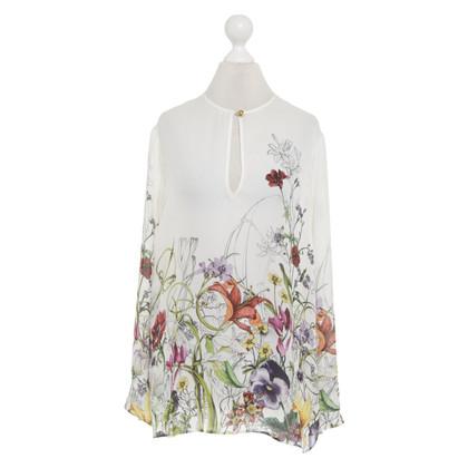 Gucci Seidenbluse mit floralem Print