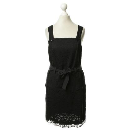 Comptoir des Cotonniers Kleid mit floraler Häkelstickerei