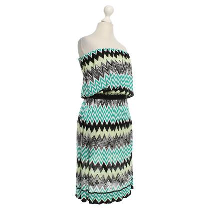 Missoni Fine knit dress with pattern