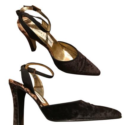 Dolce & Gabbana pumps velvet