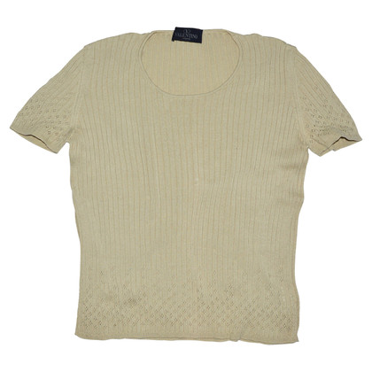 Valentino Short-sleeved pullover in brown