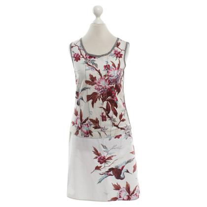 Marc Cain Tweedelige jurk met een bloemmotief