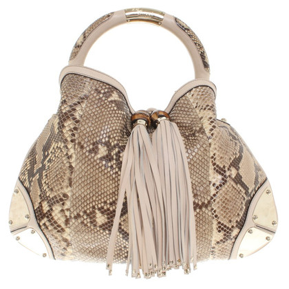 "Gucci ""Indy Bag"" made of snakeskin"