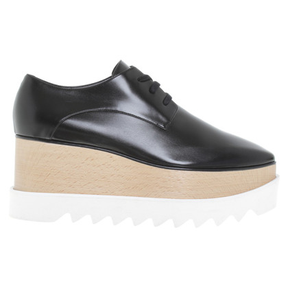 Stella McCartney Lace-up shoes in black