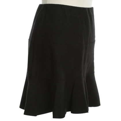 Marc Cain skirt with flounces in black