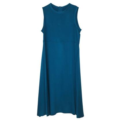 Joseph Robe en soie turquoise