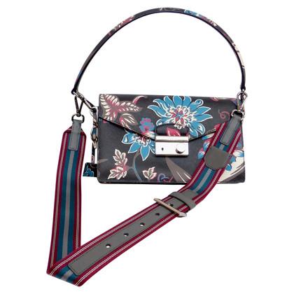 Prada Handtasche mit Blumenmuster