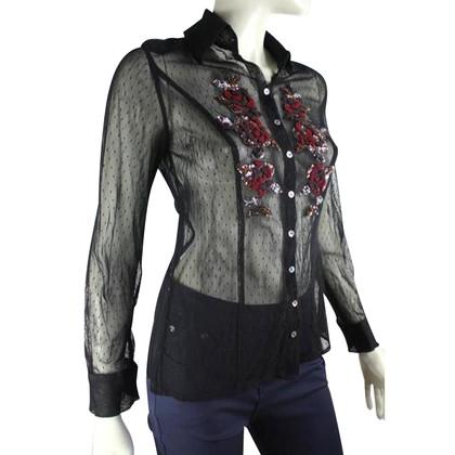 Luisa Cerano Semi-transparent blouse