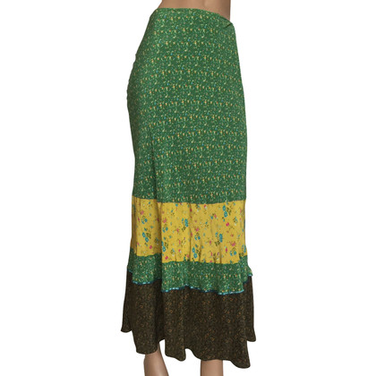 Etro Oversized skirt silk