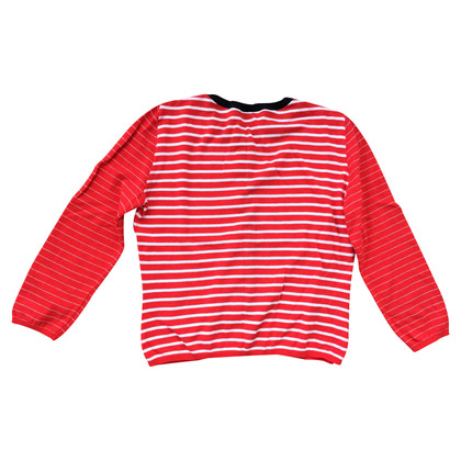 Moschino Cheap and Chic Short cardigan with stripes