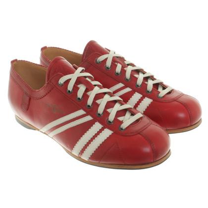 Altre marche Zeha Berlin - Ledersneakers in rosso