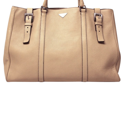 Prada Large shopper beige