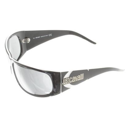 Just Cavalli Schwarze Sonnenbrille