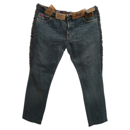 D&G Jeans with decorative details