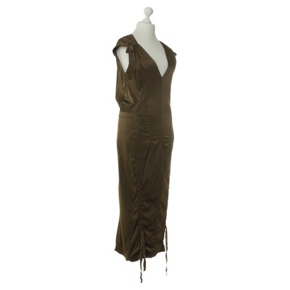 Donna Karan Old gold-colored dress