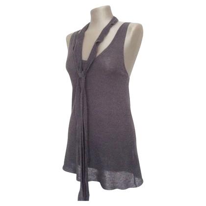 Maje Viscose/linnen jurk