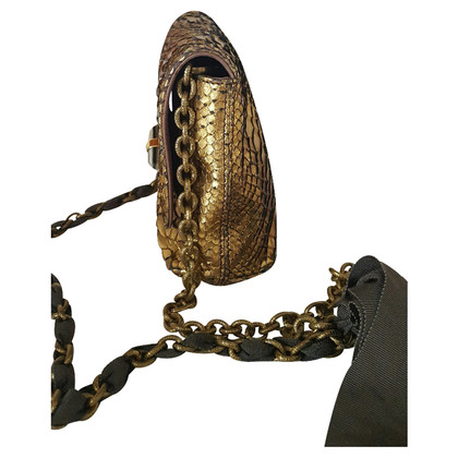 Lanvin Python leather handbag