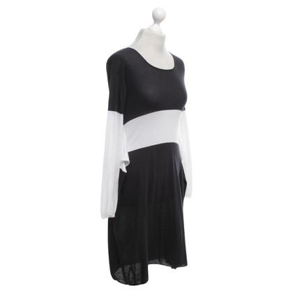 Max Mara Dress in black and white