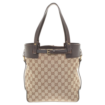 Gucci Handtasche aus Canvas