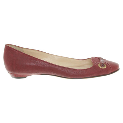 Jimmy Choo Ballerine a Bordeaux