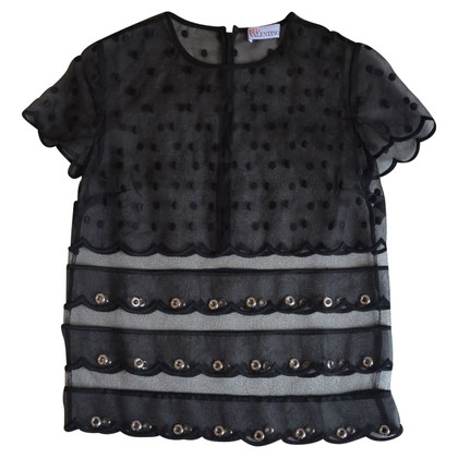 Red Valentino Blouse in black