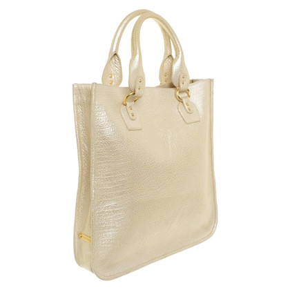 Roberto Cavalli Gold-colored shopper