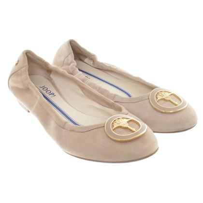 JOOP! Ballerinas aus Wildleder
