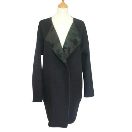 Blonde No8 Girando cappotto / giacca nera / camo