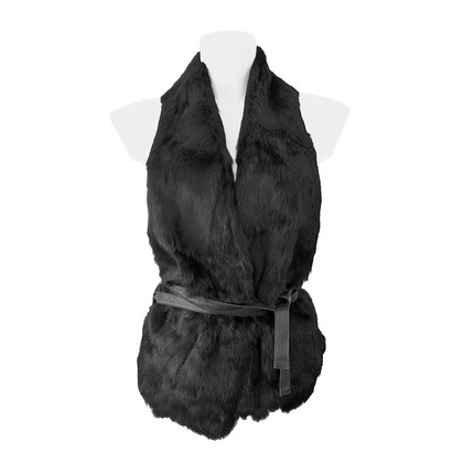 Other Designer Beayukmui - fur/leather vest