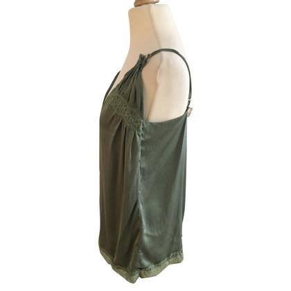 Schumacher zijde jade green