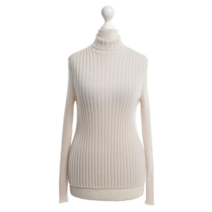 Hermès Pull en cachemire beige