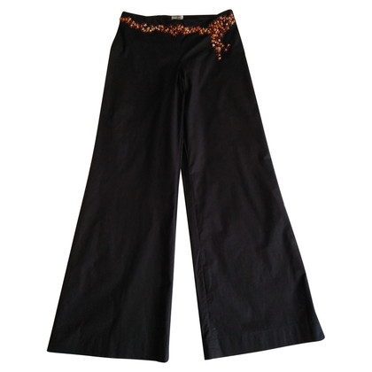 Philosophy di Alberta Ferretti Black trousers