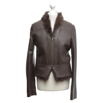 Steffen Schraut Fur jacket in brown