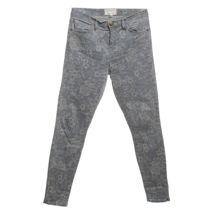 Current Elliott Jeans with a floral pattern