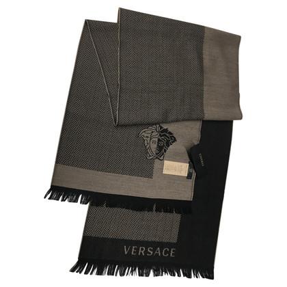 Versace sciarpa lana d'agnello