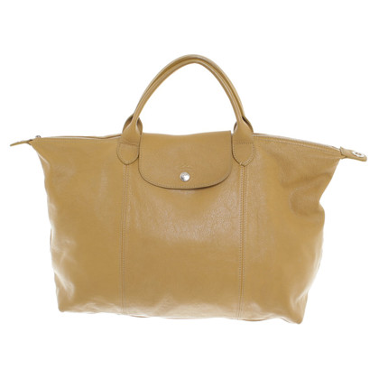 Longchamp Shopper in Ocker