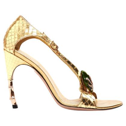 Gucci Golden sandals
