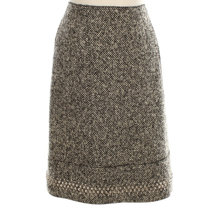 Miu Miu skirt with silver colored rivets