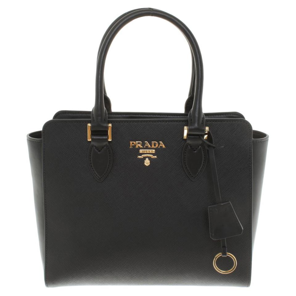 Tassen Prada : Prada handtas in zwart koop tweedehands