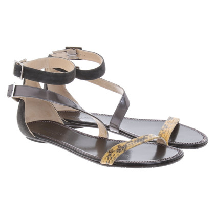 Jimmy Choo Sandals with snakeskin detail