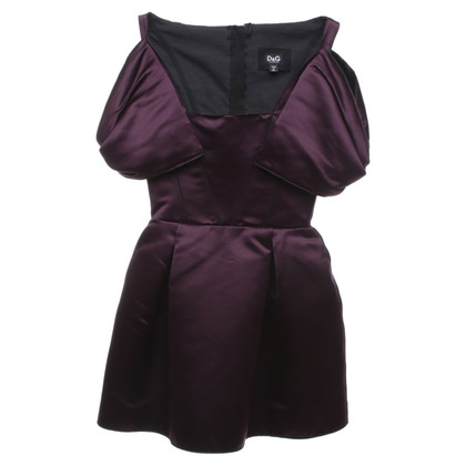 D&G Dress in eggplant