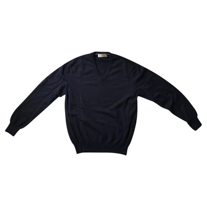Brunello Cucinelli Dark blue pullover
