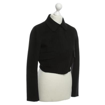 Iris von Arnim Cashmere cropped jacket