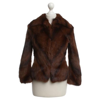 JOOP! Fur jacket in brown tan