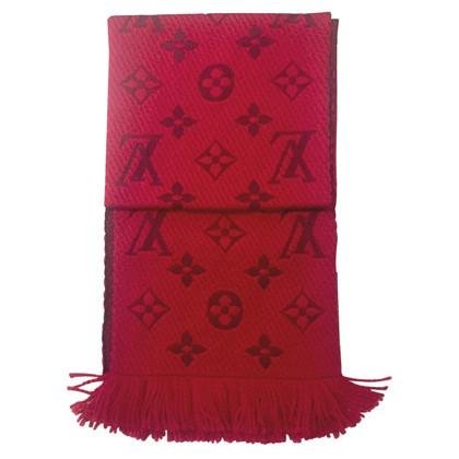 Louis Vuitton Sciarpa Logomania rossa