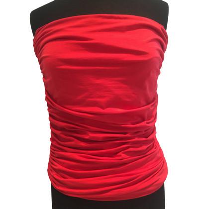 Van Laack Bandeau-top in red
