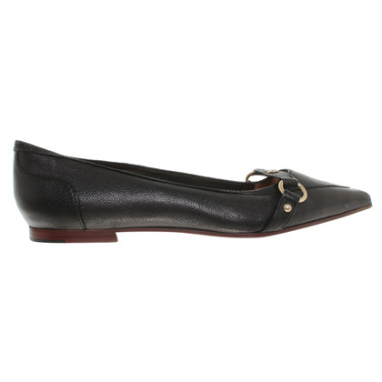 Hugo Boss Leather ballet flats